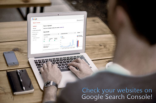check site on Google Search Console