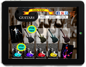 Guitars e-Shop Template