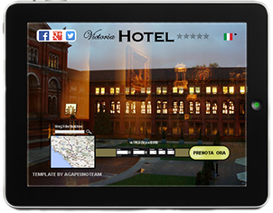 hotel online booking website template