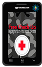 smartphone displaying free website check up ad